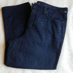 Spanx Slim X Casual Capri Jeans